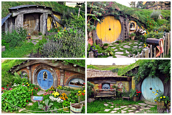 More hobbit hole doors