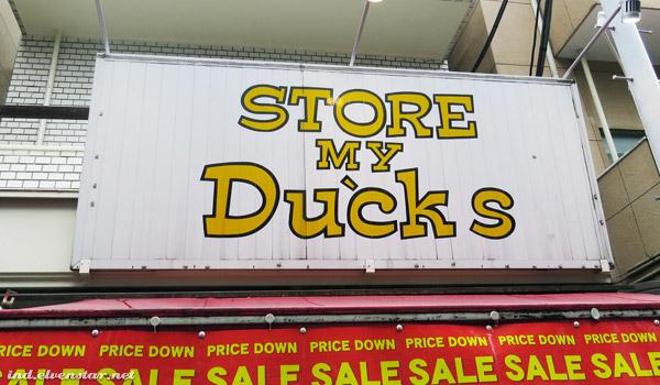 Store Ducks?
