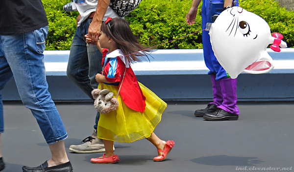 Aww, little Snow White!