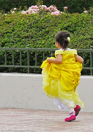 Another Belle. Wait, Belle, where are you running off to?