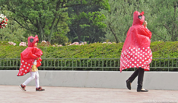Minnie raincoats/capes!